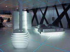 More TRON Inspired Futuristic Interiors | Shelterness