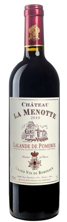 """MyGoodWines - """"Château La Menotte"""" Lalande de Pomerol - Vin de Bordeaux"""