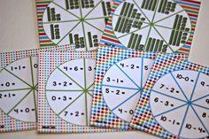 math spinner games