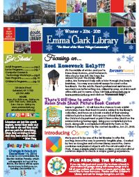 Winter 2014/2015 Newsletter - you can find it right on our website:  www.emmaclark.org/about/newsletters/