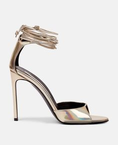 c359c41d023 Lace Up Heeled Vegan Sandals - Stella McCartney This pin links to the  product through an affiliate link