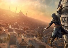 """Ambient Atmosphere for writing, reading and studying: Listen to """"Watching Over The Lively City""""  An ASMR piece inspired by the first Assassin's Creed games."""