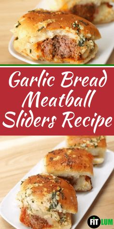 Enjoy these buttery, cheesy, and garlic flavored mini meatball subs at parties, snacks, and weeknight meals.This quick easy slider recipe would also be great for get-together with family and friends or even for holiday celebrations. Quick Recipes, Easy Dinner Recipes, Appetizer Recipes, Beef Recipes, Cooking Recipes, Healthy Recipes, Meatball Sliders, Meatball Subs, Slider Sandwiches