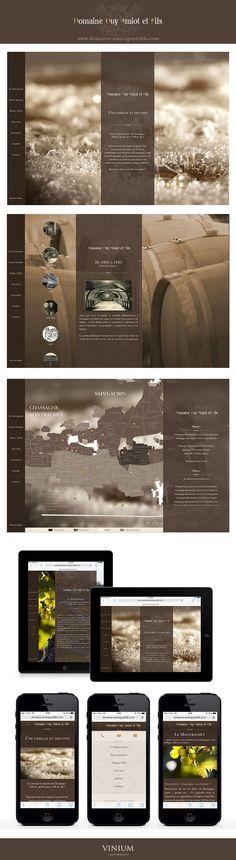 Vinium Luxury Web Design vous présente le nouveau site du Domaine Guy Amiot & Fils, une propriété familiale ancrée à Chassagne-Montrachet depuis 1920. #webdesign  #vin  #ChassagneMontrachet #winedesign #DomaineAmiot