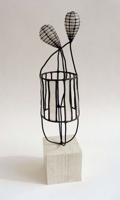 Jay Kelly metal & paper sculpture