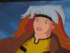 X Men The Animated Series 1992 Animation Rogue Cel Hand Painted Back Art N127 | eBay