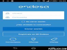 """Endesa Clientes  Android App - playslack.com ,  """"Endesa Clientes"""" es la aplicación gratuita, rápida y fácil de usar que ponemos a tu servicio para que puedas gestionar tus contratos de luz y gas, consultar tus facturas desde cualquier sitio, introducir la lectura de tu contador e informarte de nuestras ofertas exclusivas. También podrás acceder a nuestros canales de contacto y localizar las Oficinas y Puntos de Servicio más cercanos a ti.Con nuestra aplicación tendrás siempre a mano toda la…"""