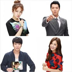 Future Choice (aka Marry Him If You Dare) has released character shots of its four leads. Yoon Eun Hye , Lee Dong Gun , Jung Yonghwa, and Han Chae Ah