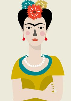 Frida Kahlo by Judy Kaufmann Diego Rivera, Illustrations, Illustration Art, Self Portrait Artists, Frida And Diego, Frida Art, Graphic Art, Art Photography, Street Art