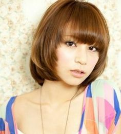 The most popular haircut among all the short haircuts is the bob haircut. For many years bob haircut is classic one and having a lot of styles in them. Women of Cute Bob Hairstyles, Cool Hairstyles For Girls, Bob Haircuts For Women, Stylish Haircuts, Long Bob Haircuts, Girl Hairstyles, Asian Hairstyles, Summer Hairstyles, Asian Bob Haircut