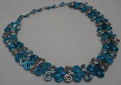 Aluminium Blue Chain