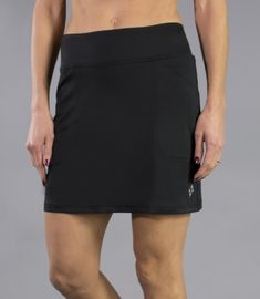 Unique, Pretty Colors are the highlight of the JoFit Ladies golf collection just like this Sangria (Black) JoFit Ladies & Plus Size Mina Golf Skorts!
