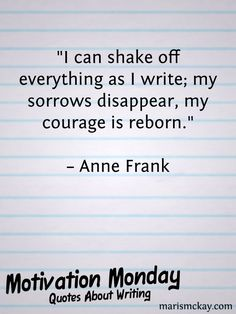 """I can shake off everything as I write; my sorrows disappear, my courage is reborn. Writing Quotes, Writing Advice, Quotes About Writers, Writing Prompts, Book Quotes, Me Quotes, Writing Ideas, Creative Writing, Qoutes"