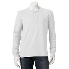 SONOMA life + style Weekend Henley - Men ANY COLOR