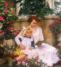 Maman et enfant de Sandra Kuck