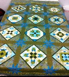 Carol's Block of the Month - Quilted Joy