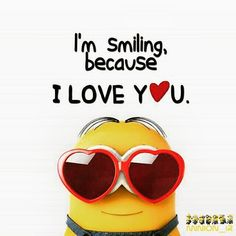 Best 50 Minions Humor Quotes – Quotes Words Sayings Cute Minions, Minion Jokes, Minions Despicable Me, Minion Stuff, Minion Love Quotes, Minions Quotes, Smiley T Shirt, Smiley Emoji, Because I Love You