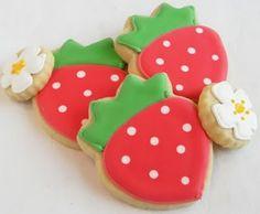 Fiesta Friday - Strawberry Shortcake, Cream On Top