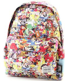 disney collage backpack - ALL THE DISNEY CHARACTERS!!