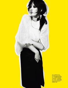 awesome Harper\'s Bazaar Hong Kong | Editorial de Moda Abril 2013 | Merilin Perli por Tina Luther