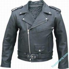Buy #Leather Biker Jacket Products on Tradebanq.com http://shar.es/871qw