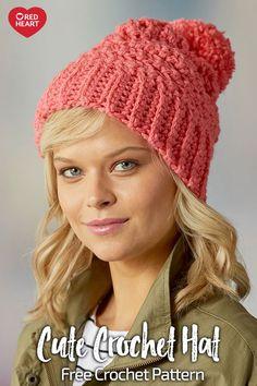 8c9a1502696 Cute Crochet Hat · Crochet Beanie PatternKnit Or CrochetChunky ...