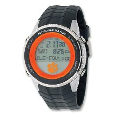 Mens Clemson University Schedule Watch Jewelry Adviser Watches. $100.00. Save 60% Off!