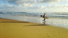 Morning surf #BurleighHeads Photo by Kate Alexandra