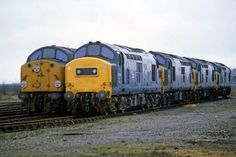 40002 + 37091 + 37109 + 37014 Stabled on March Depot, Electric Locomotive, Diesel Locomotive, Steam Locomotive, Train Room, Train Truck, Train Pictures, British Rail, Transportation, Automobile
