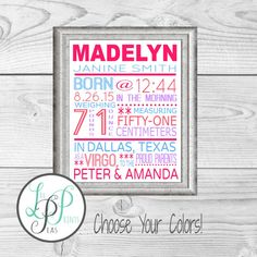 Baseball nursery baseball baby gift new baby boy gift boys room items similar to baby girl birth stats print baby boy birth stats print new baby birth announcement personalized baby gift personalized baby shower gift negle Images