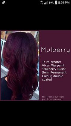 Mulberry hair