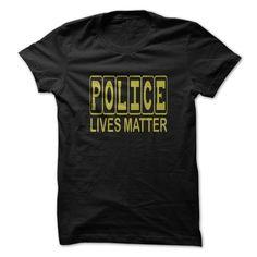 POLICE LIVES MATTER T Shirt, Hoodie, Sweatshirt