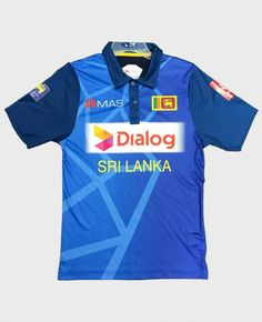 Sri Lanka Cricket Team Official ODI Shirt jersey 2018 from MAS. This is the official and the original Sri Lanka Cricket Team ODI T-Shirt Jersey. Cricket T Shirt, Team T Shirts, Sri Lanka, Things To Sell, Mens Tops, Clothes, Free, Ebay, Outfits