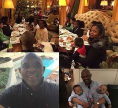 Welcome To Chitoo's Diary.: Tony Elumelu shows off his twin boys for the first...
