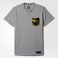 adidas - Camiseta Camouflage Pocket