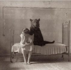 Bear's were a very popular item of decoration in the mid 1800's  in Cabin settings throughout the Adirondacks~