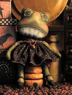 Примитивные куклы лягушки на продажу
