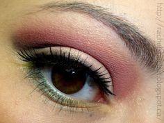 Makeup by Rachel: Pink, Green, and Yellow Makeup
