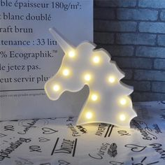 Vimlits Unicorn LED Night Light Lamp Kids Marquee Letter Lights Unicorn Shape Signs Light up Christmas Party Wall Decoration Battery Operated Unicorn Rooms, Unicorn Head, Unicorn Bedroom, Marquee Letters, Marquee Lights, Light Up Bottles, Toddler Room Decor, Battery Operated Led Lights, Novelty Lighting