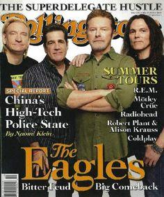 The Eagles, mi banda norteamericana favorita, quizá menospreciada por parte de la crítica por ser un grupo de enorme éxito, - con una discografía muy acotada uno de los grupos que mas discos ha vendido en la historia de la música -, amén de tener el Greatest Hits mas vendido de la historia.