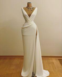 Glam Dresses, Event Dresses, Bridal Dresses, Formal Dresses, Elegant Evening Dresses, Vestidos Fashion, Vestidos Sexy, Fashion Dresses, Ring Verlobung