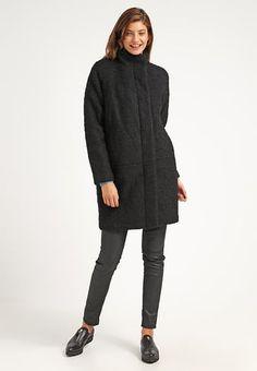 HOFF - Płaszcz wełniany /Płaszcz klasyczny - black melange