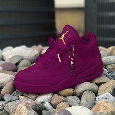 timeless design dfc80 e5e89 Air Jordan Violet Custom