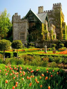 Hatley Castle - Victoria, British Columbia, Canada.  Also known as Castle Queen or Arrow & Luthor Mansion on Smallville