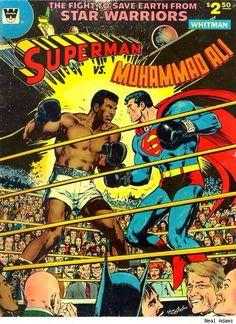 Superman vs Muhammad Ali by Neal Adams