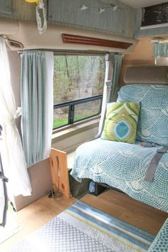 Evans DIY Conversion Van Tiny Home 0020