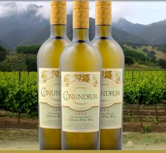 Caymus Conundrum....a blend of Muscat, Chardonnay, Sauvignon Blanc & Viognier.  Perfect with Thai or any spicy food.
