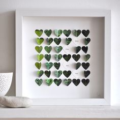 use paint chips? Paint Chip Art, Paint Chips, Group Art Projects, Diy Projects, Transfer Photo To Glass, Diy Cadeau, Heart Frame, Valentine Crafts, Valentines