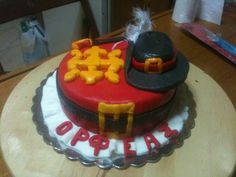 Musketeer Birthday Cake
