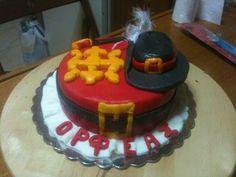 Musketeer Birthday Cake